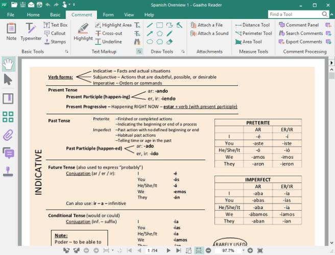 Редактирование текста pdf документов