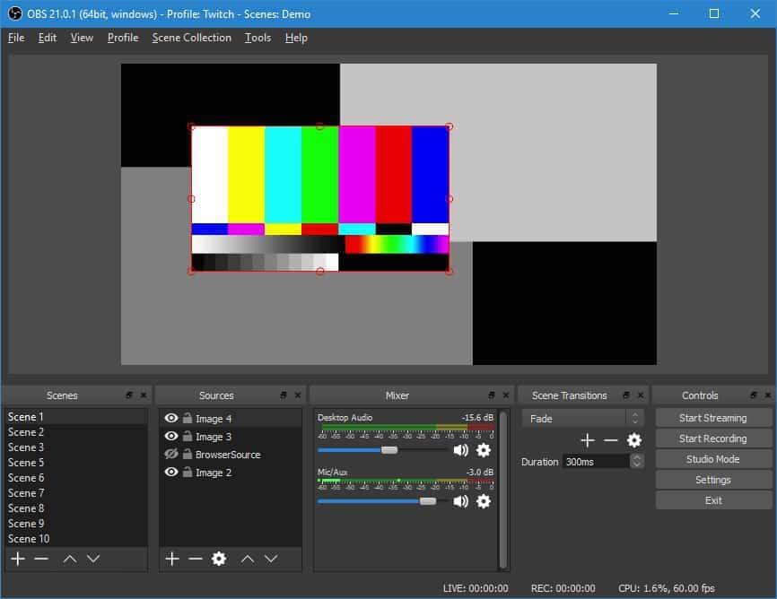 OBS - лучшая программа для записи видео с экрана и онлайн стримминга